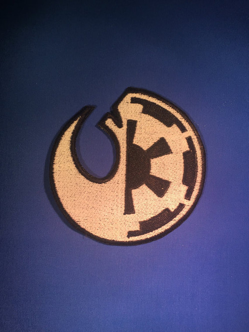 Galactic Empire Rebel Alliance Emblem Star Wars