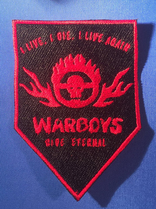 Mad Max: Fury Road Badge - Warboys Patch