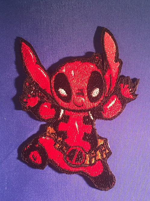 Stitch Deadpool Patch