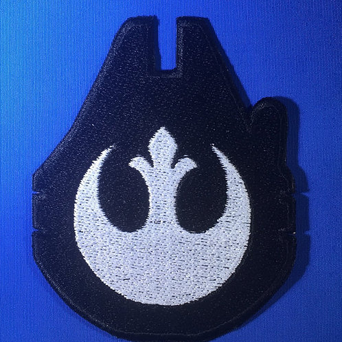 Star Wars Falcon Rebel emblem patch / applique