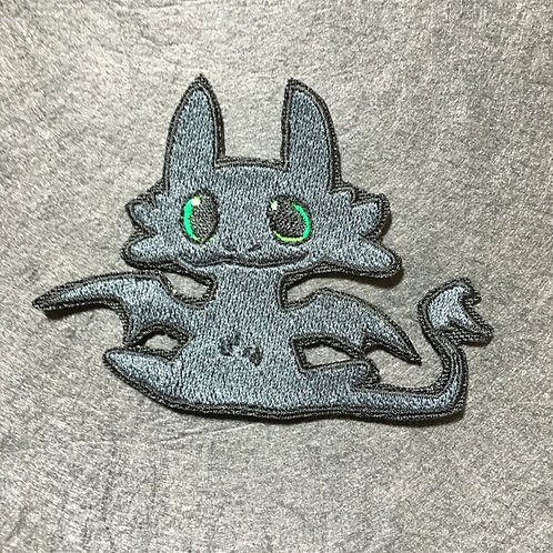 Toothless the Dragon Patch or Applique