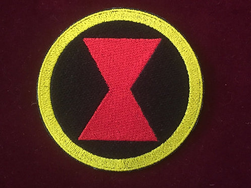 The Marvel Black Widow emblem Patch
