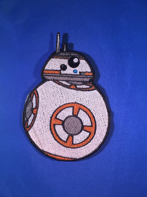 Star Wars inspired BB-8 Droid Patch