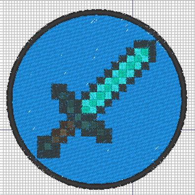 Minecraft Sword Patch - ROUND 3 versions