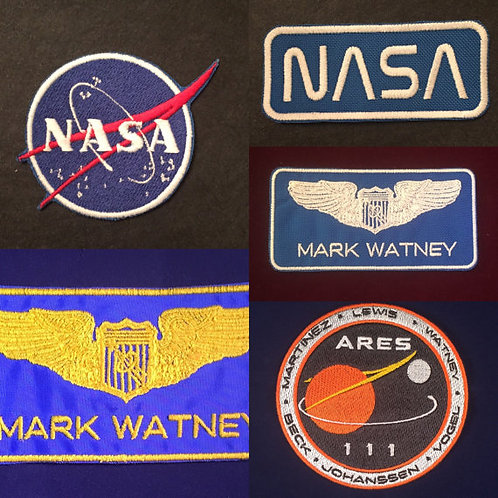 The Martian Patches Set
