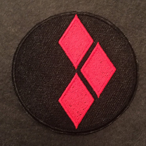 Harley Quinn Logo Patch