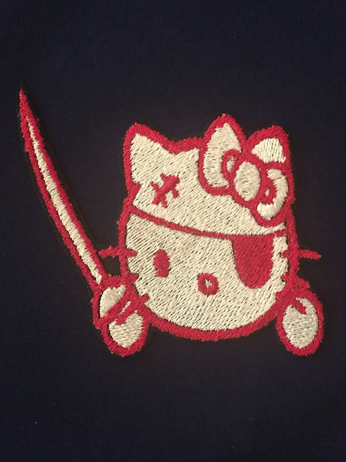 Hello Kitty Pirate Patch