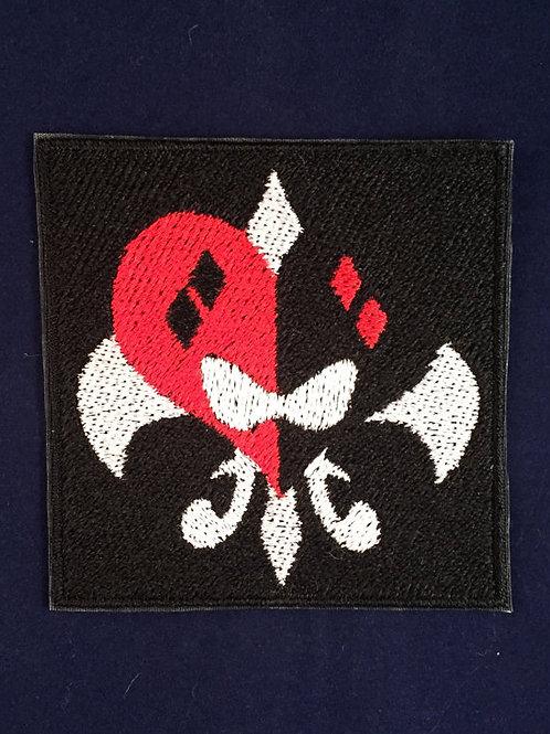 Harley Quinn Black Logo Card