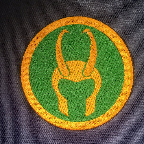 Loki / Avengers Patch