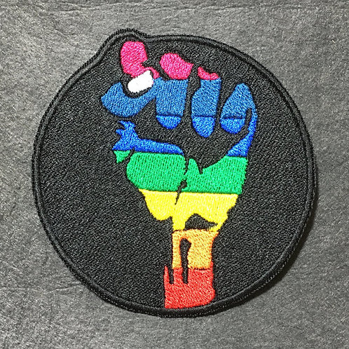Gay Pride Patch or Applique (Orlando Remembered) - Full Coverage