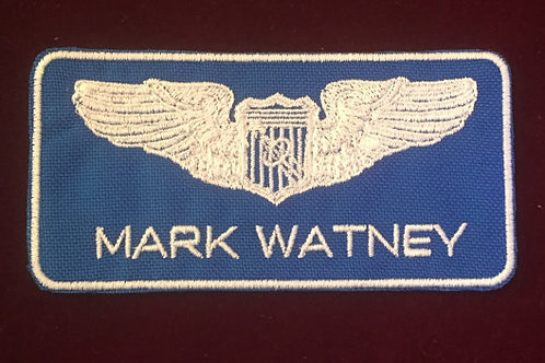 The Martian Mark Watney Name Badge (ARES III) Patch