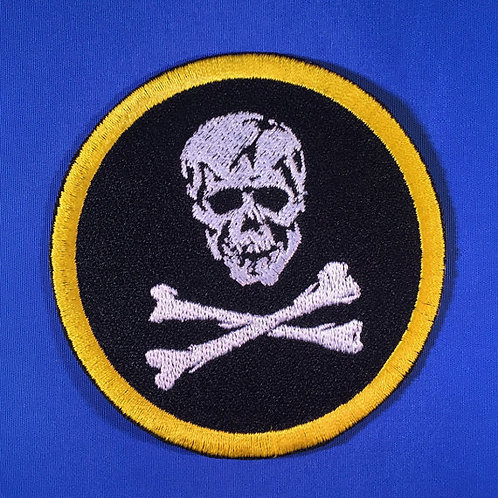Robotech Skull Squadron Insignia Patch - Full Coverage