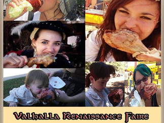 WINNERS OF THE Share to win turkey legs and / or tickets to faire!
