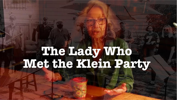 The Lady who met the Klein Party rectang