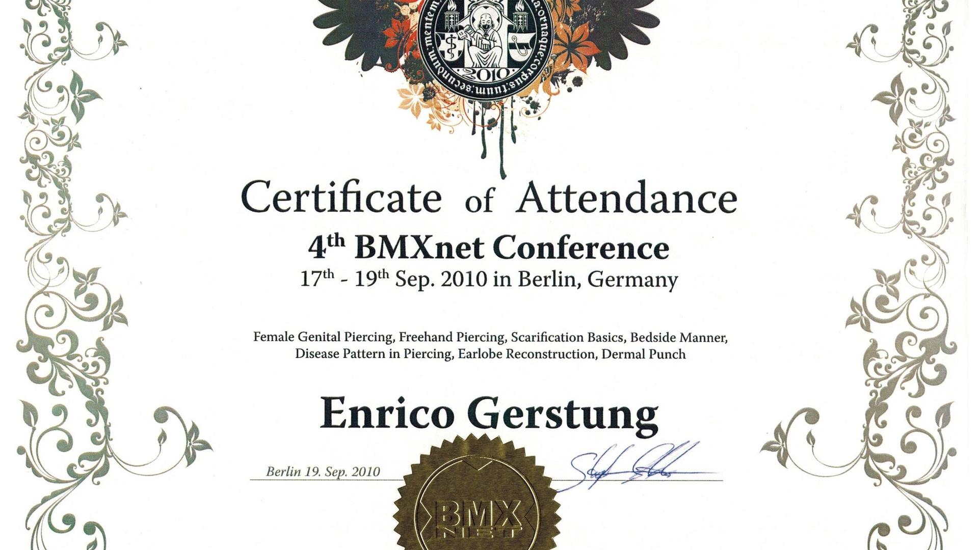 Zertifikat_BMXnet_2010
