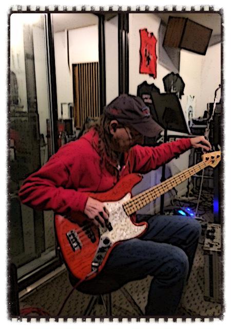 Mark B in the Studio