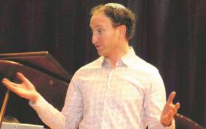 Image of the author, Adam Moscoe