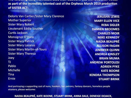 Sister Act has a cast!