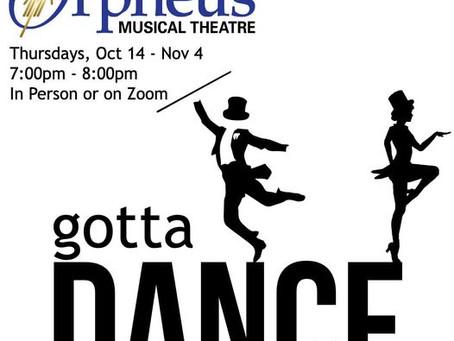 Gotta dance?