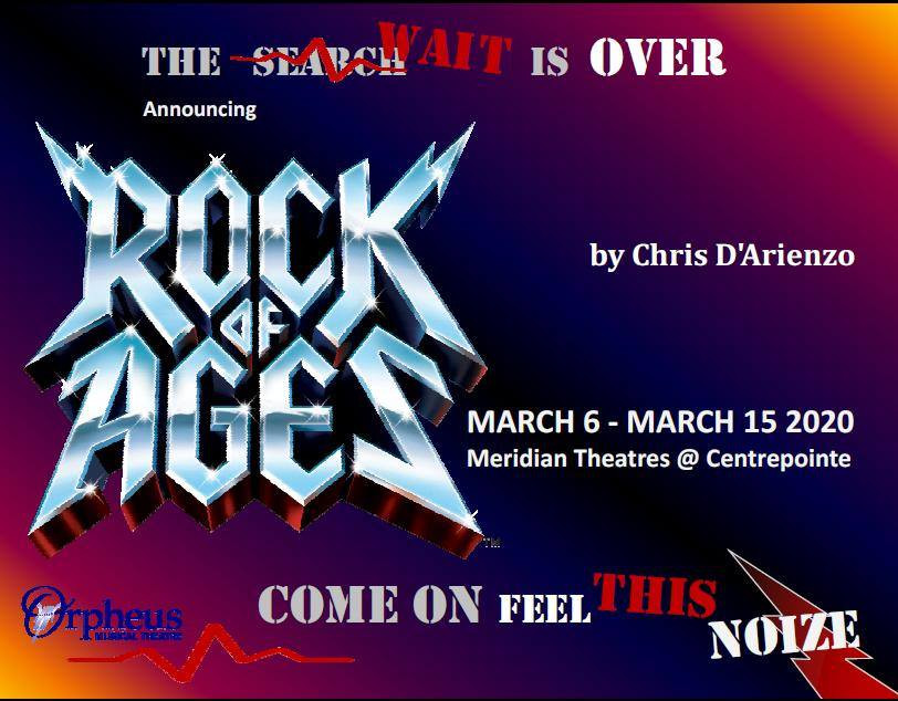 Rock of Ages - March 6-15 2020
