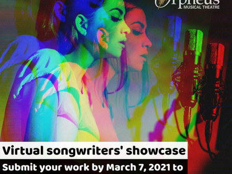 Virtual songwriters' showcase