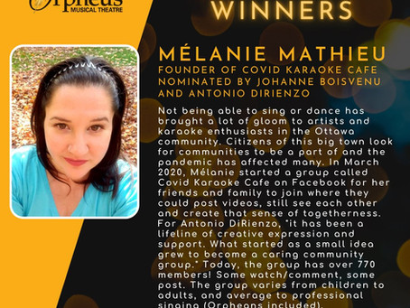 Shine on Mélanie Mathieu