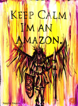 Keep Calm Im An Amazon