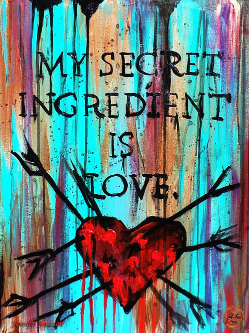 My Secret Ingredient is Love