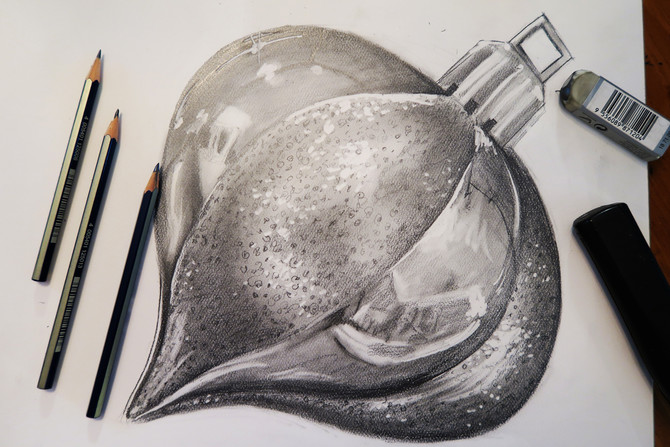 How to Shade with Graphite