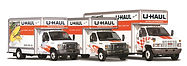 UHAUL trucks side by side