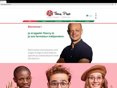 Le nouveau site Thierry Payet