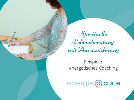 Spirituelle Lebensberatung / Coaching mit Aurazeichnung
