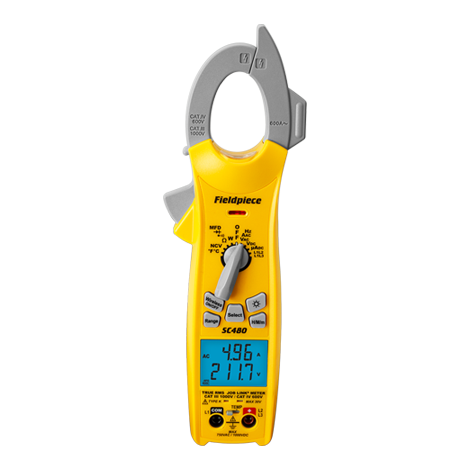 SC480 Wireless Power Clamp Meter