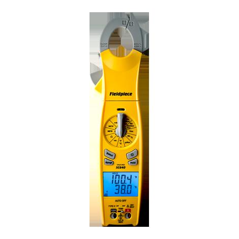 SC640 – Loaded Clamp Meter