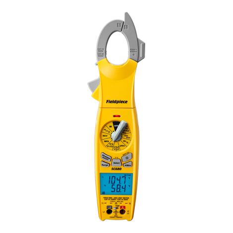 SC680 – Wireless Power Clamp Meter