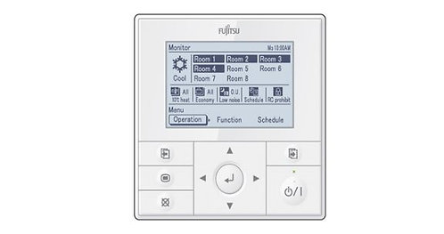 Hard Wired Fujitsu Air Conditioning Remote Controller UTYRVNYM