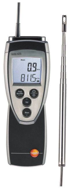 Testo 425 - Compact Thermal Anemometer
