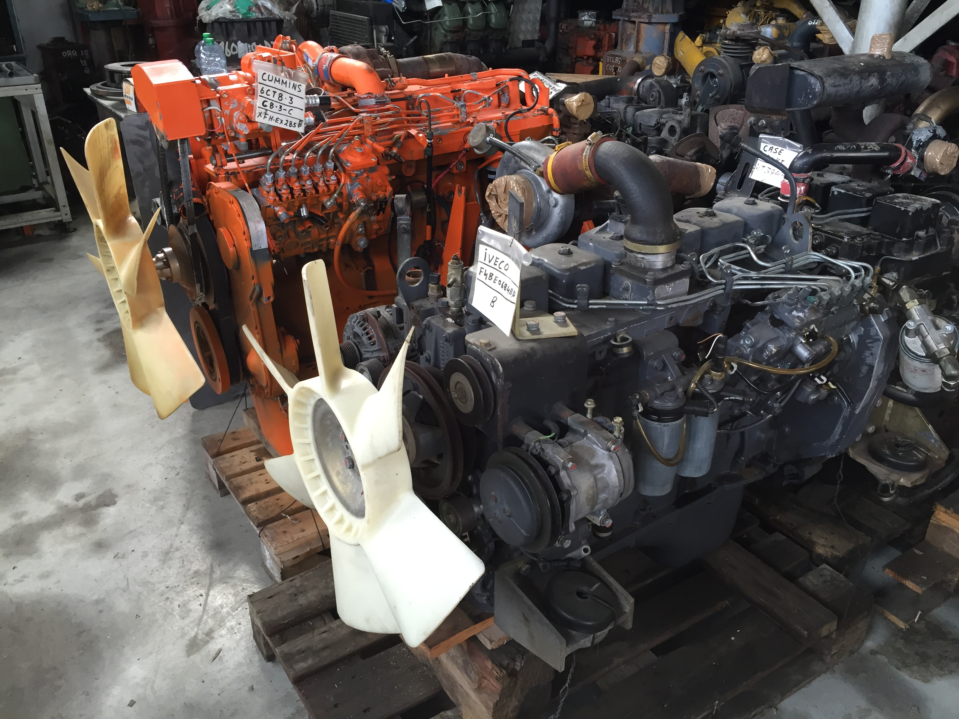 Motori di ogni tipo e cilindrata
