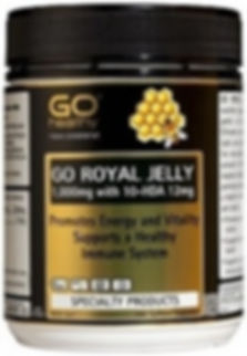Go Royal Jelly 1000mg 10-HDA 12 Capsules