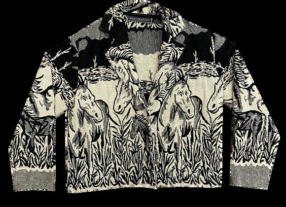 Archive Horse Motif Jacket