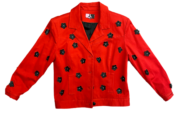 Archive Flower Motif Coat