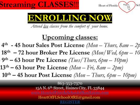 Enrolling Now!!!!