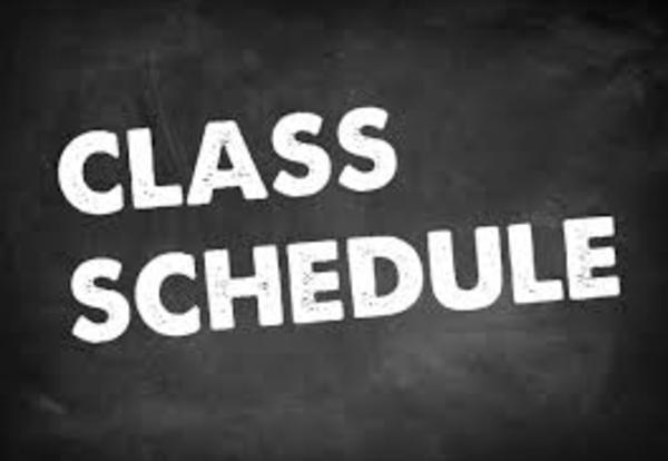 NEW! School Day Schedule Change