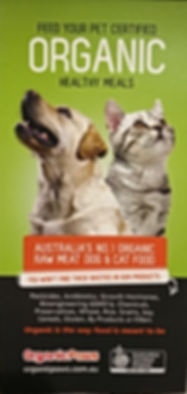 Organic paws ad