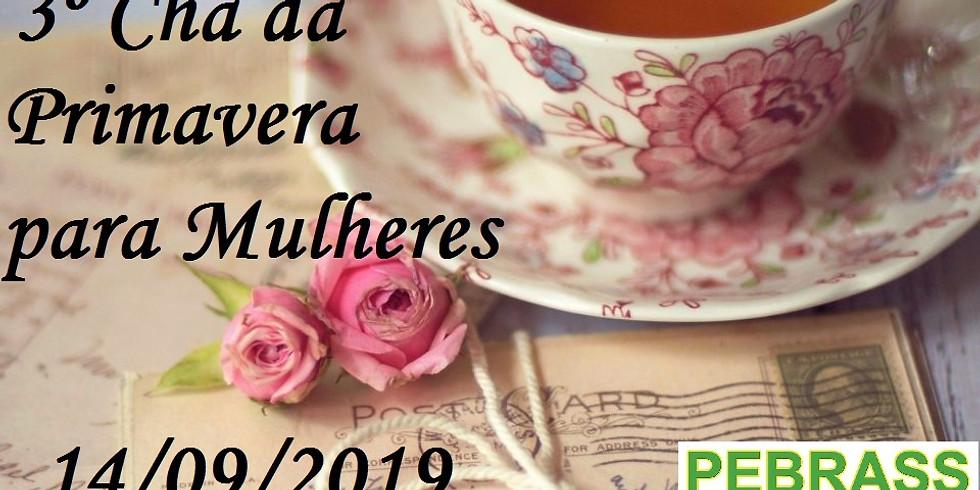 3º Chá Beneficente da Primavera para Mulheres