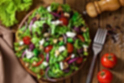 Italian summer garden salad