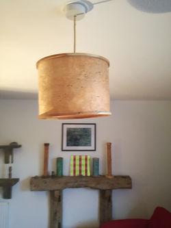 birch lamp shade