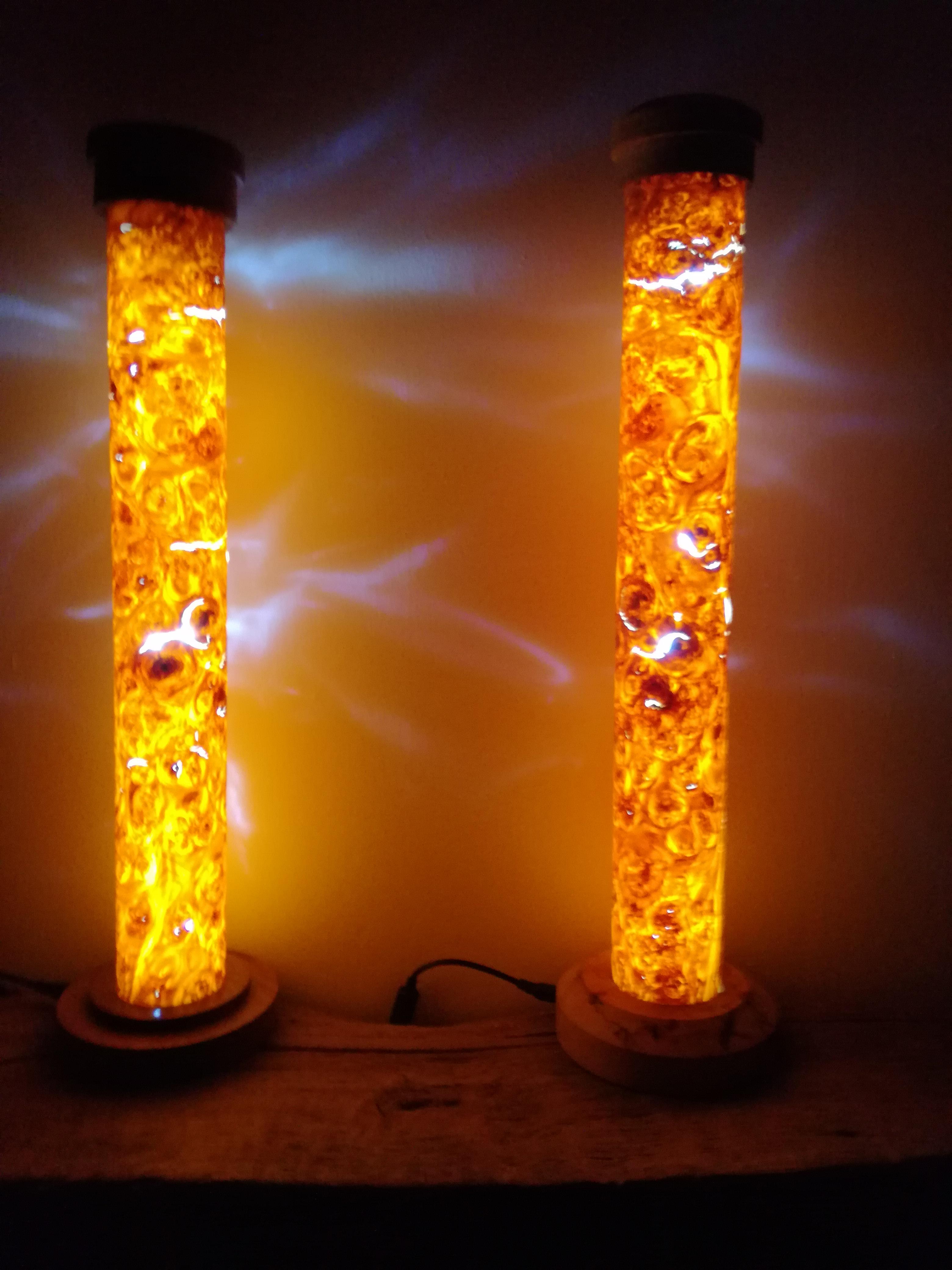 Tube lamp,