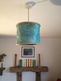 green poplar lamp shade