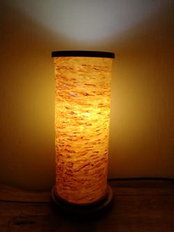 Table lamp, Birch veneer